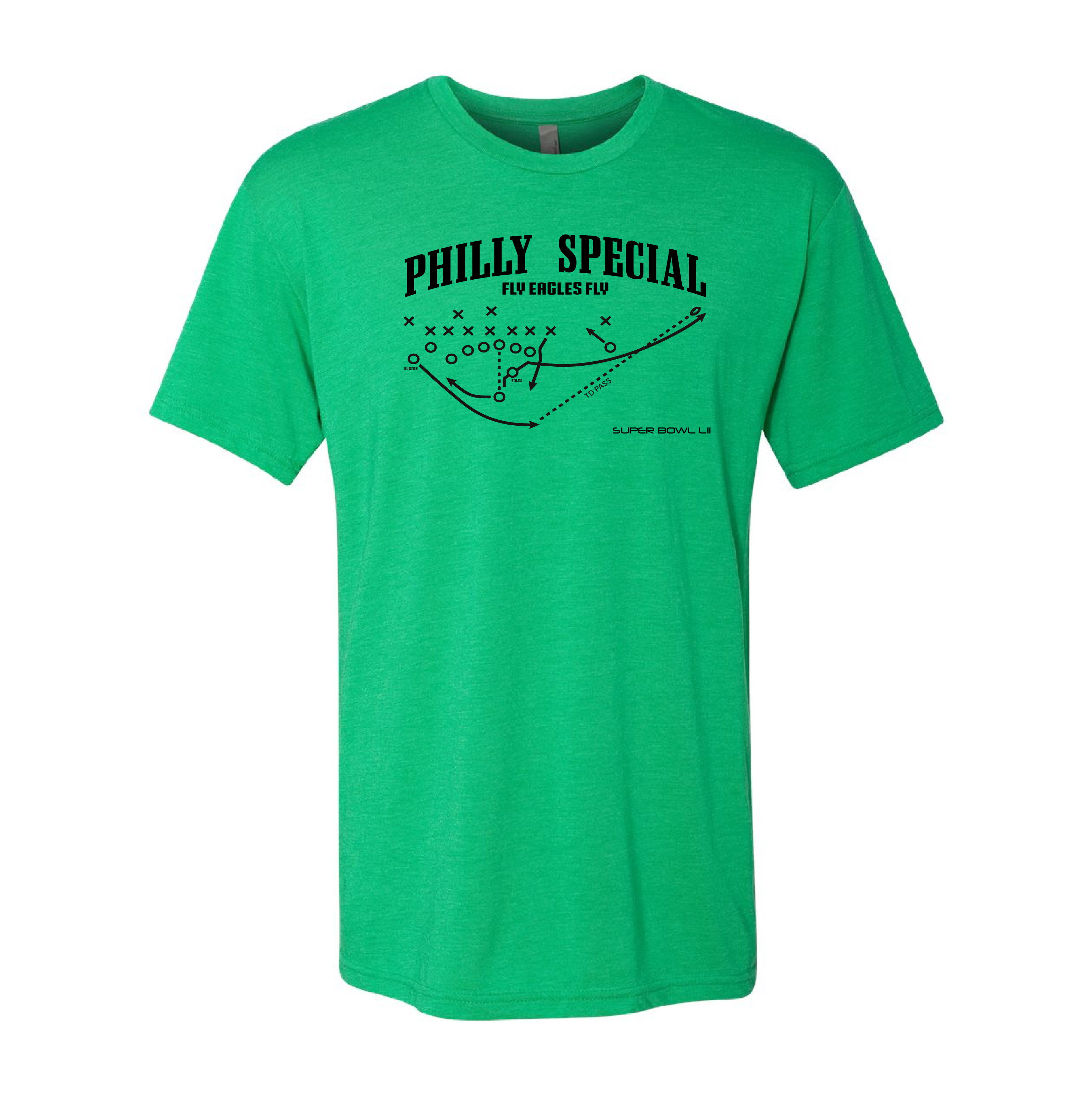 new styles ad99c 1d1ef Philadelphia Eagles Philly Special Super Bowl T-Shirt- Nick Foles Touchdown  Play