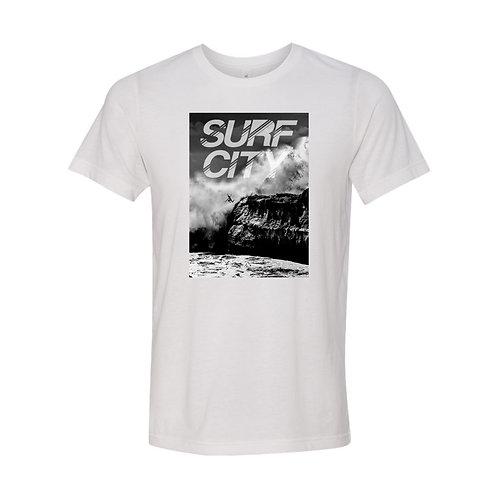 """Ocean Rescue - Surf City """"Santa Cruz Cliff Jump"""" Tee"""