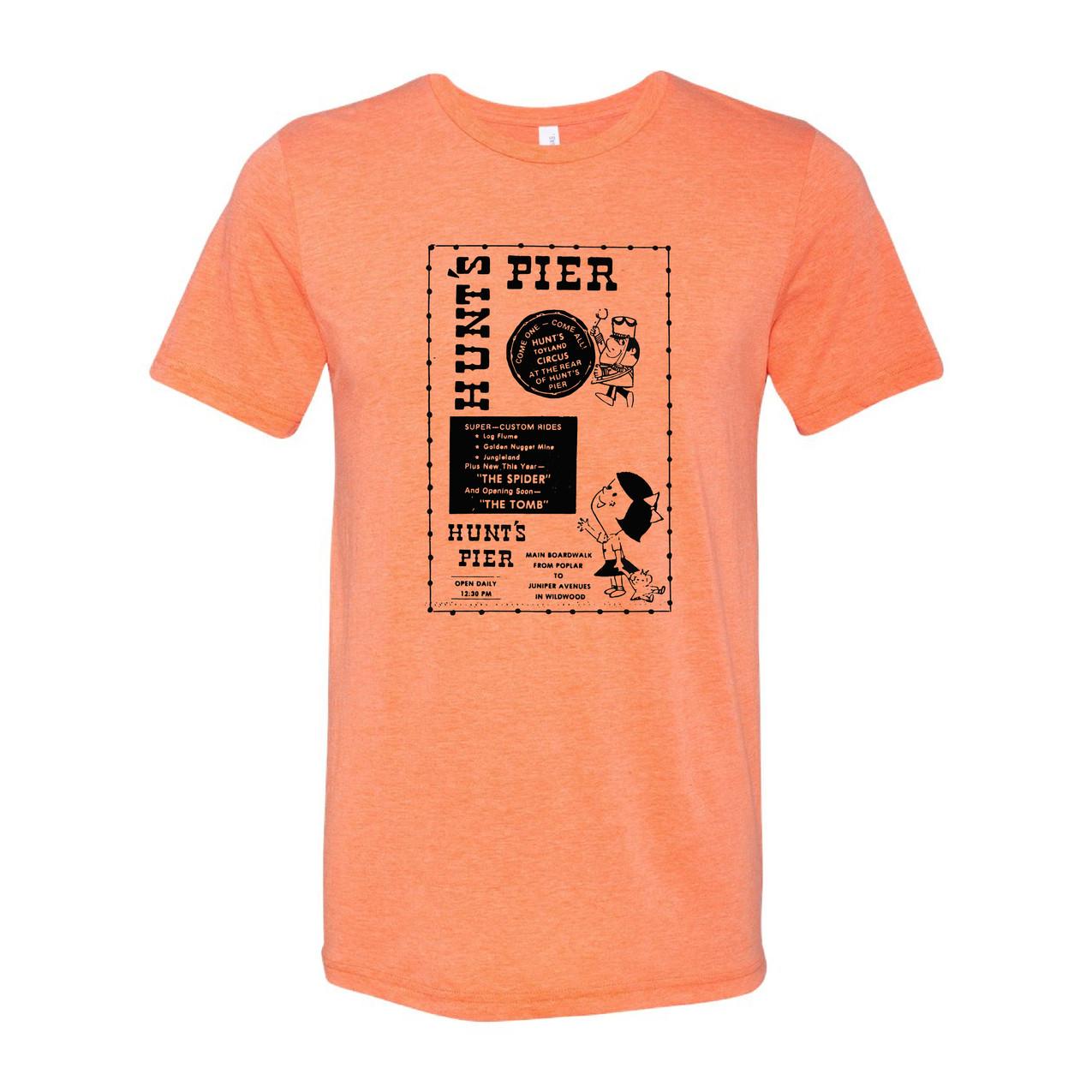Hunt's Pier orange