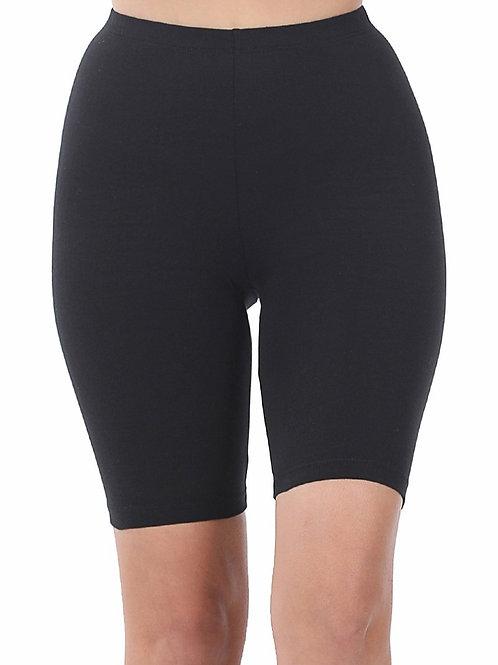 Premium Cotton Biker Shorts