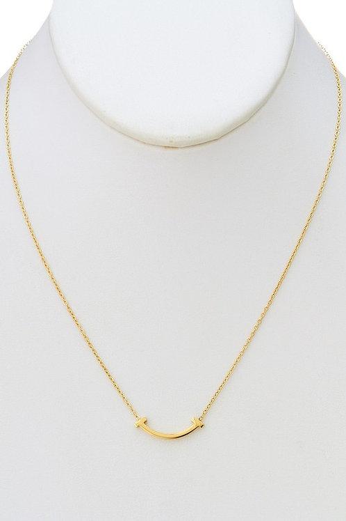 Curve Bar Necklace