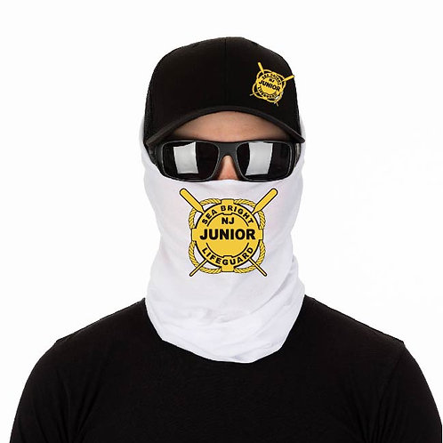 spf 50 white face gaiter/mask/buff