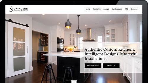 North Wildwood Shirt Shop - website design