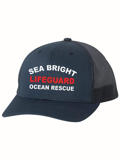 Sea Bright Navy Trucker Hat