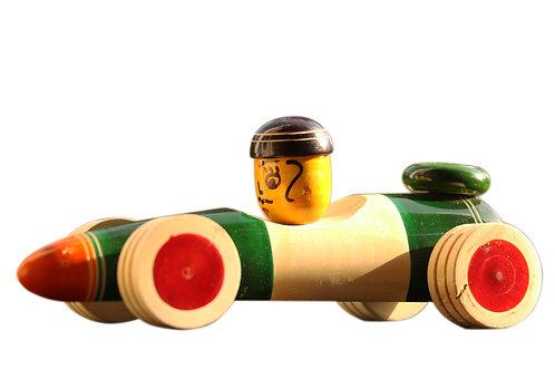 Channapatna Toys-Race Car