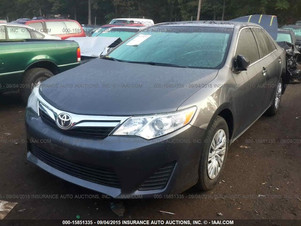 2013 TOYOTA CAMRY LE -  20,057 MILES