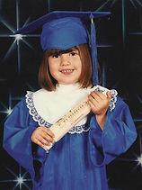 She graduated from Head start..jpg