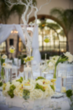 Image of a beautifully decorated wedding