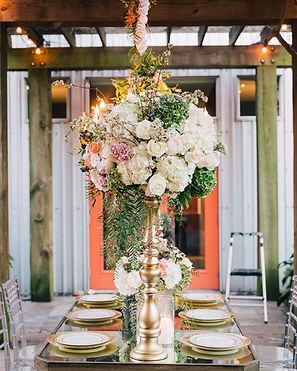 5226 elm table setting houston weddings