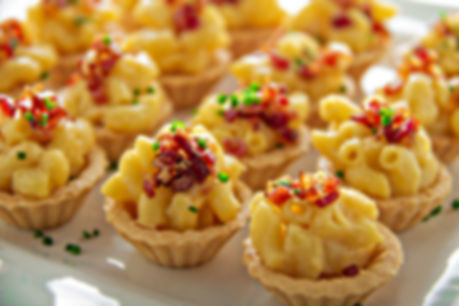 Mac & cheese bites for the holidays