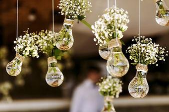 Original wedding floral decoration in th
