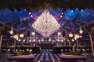 Beautiful party setting