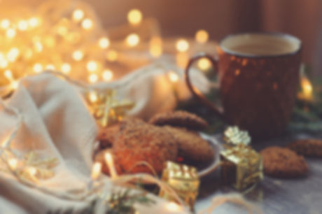Holidays is better with hot chocolate and cookies