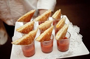 Appetizer grilled-cheese-catering-hors-d