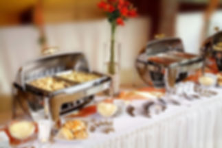 buffet catering table food hotel restaur