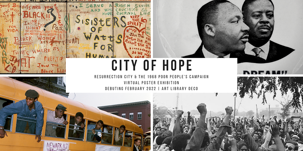City Of Hope: Poster Exhibition