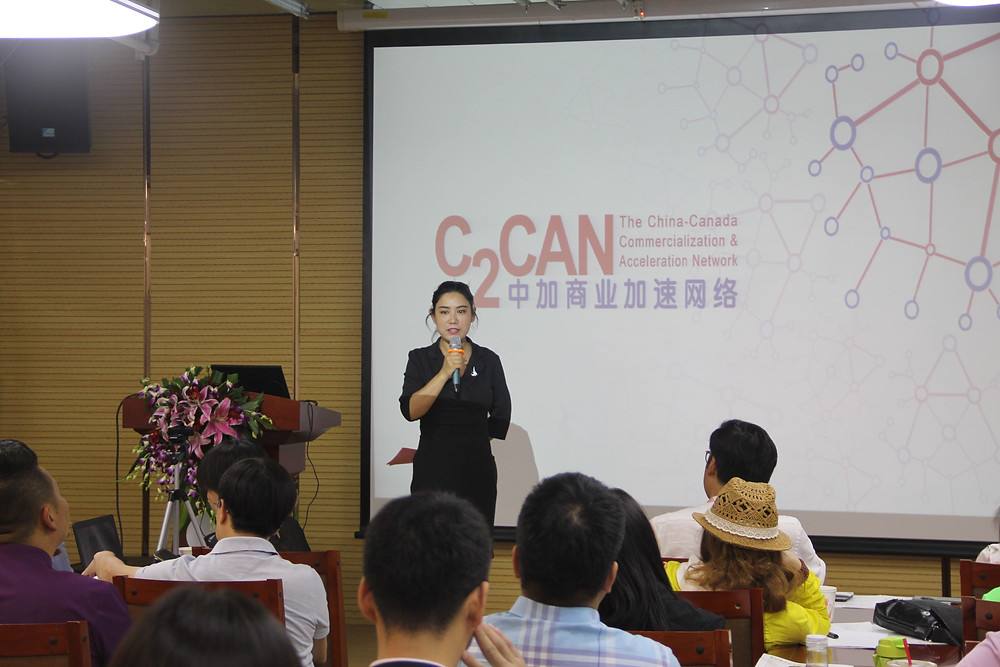 Ms. Feng Yuan, Operations Director of Hanhai Cultural Building Cowork Space
