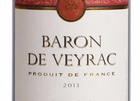 Baron De Veyrac 2015, Vin de Pays d'Oc, Red [No.K04534]