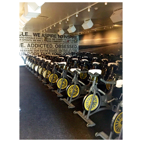 SOUL CYCLE. Taking cycling to another level.
