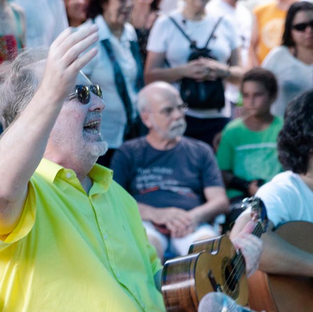 Choro na Rua na Gávea © Marilia Figueiredo
