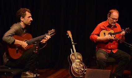 Henrique Cazes e Marcello Gonçalves © Marilia Figueiredo