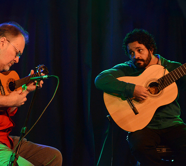 Duetos Henrique Cazes e Rogério Caetano © Marilia Figueiredo