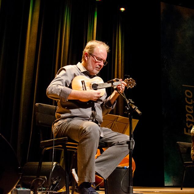 Show de lançamento do CD Música Nova para Cavaquinho com Henrique Cazes e João Camarero © Marilia Figueiredo