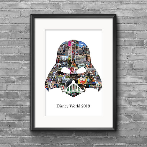 Darth Vader - Star Wars photo collage