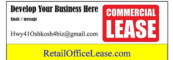 Retail Office Lease Oshkosh WI