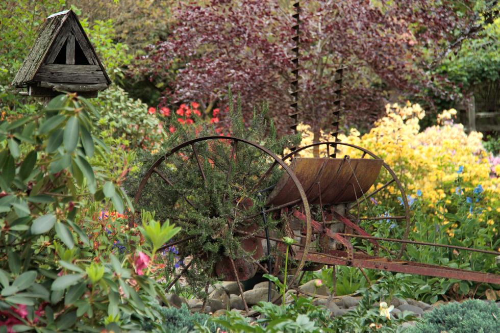 Vintage Garden Art