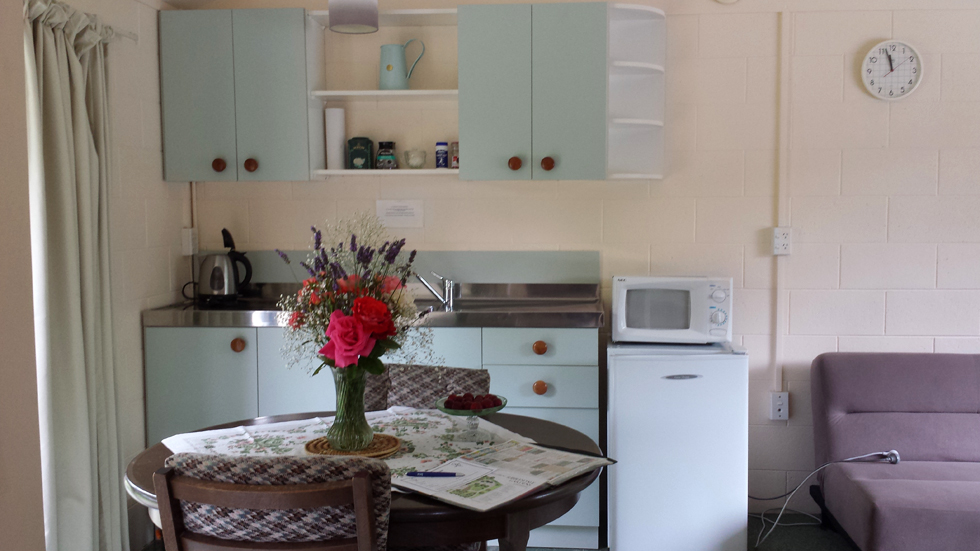 Kitchenette in cottage