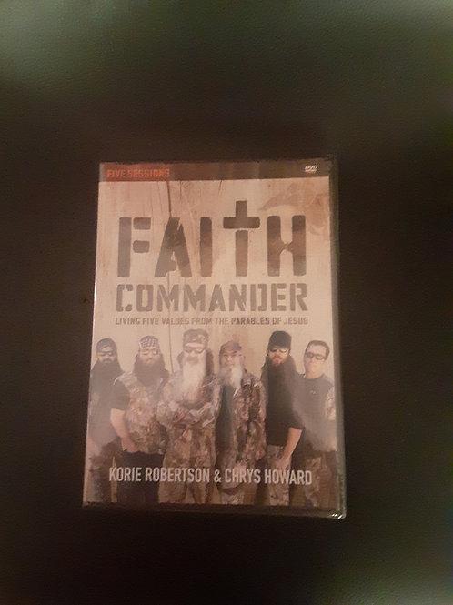 Faith Commander Companion DVD
