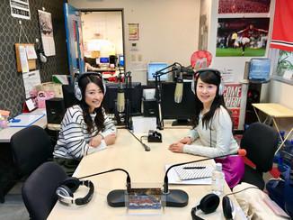 REDSWAVE 78.3FM「村田綾の笑顔でつなごう」★収録