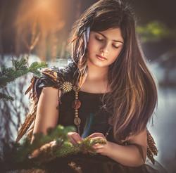 Painterly Girl