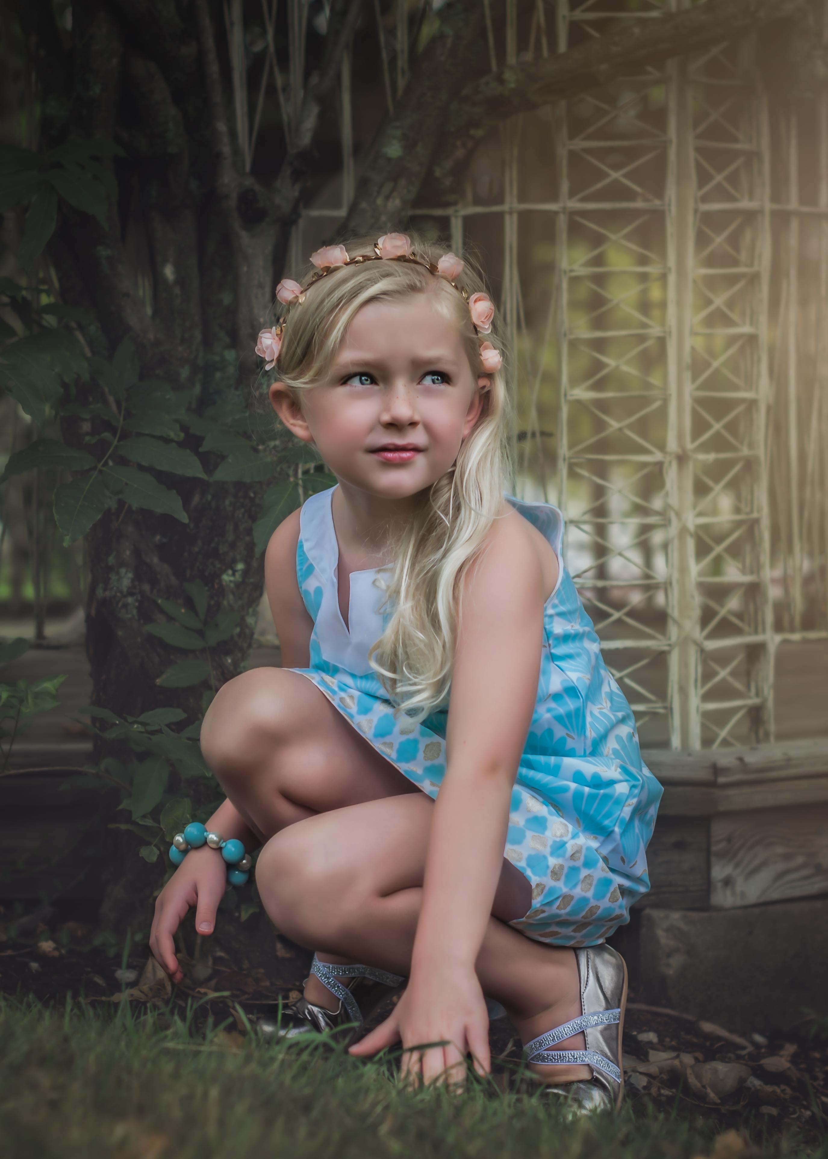 Child Posing