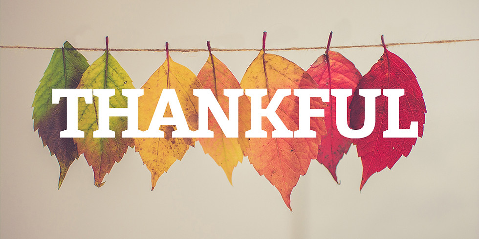 Thankful Kids Day!