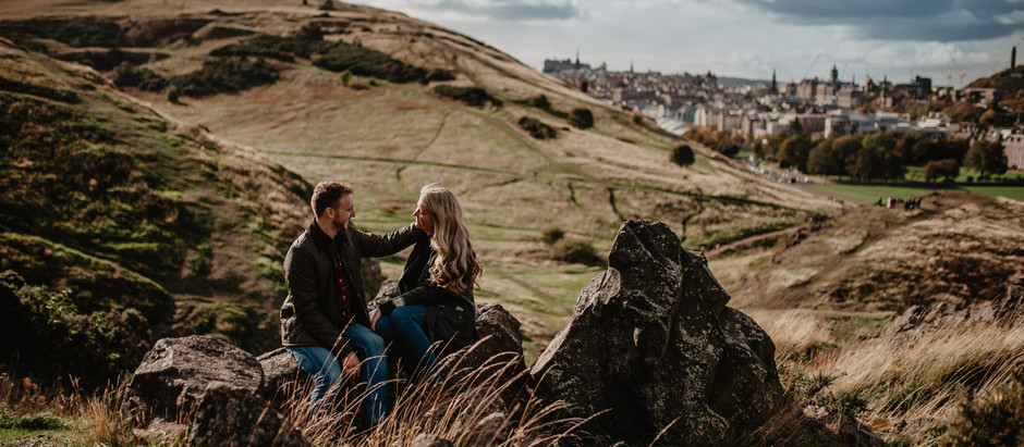 Love on Arthur's Seat | Scottish Photographer