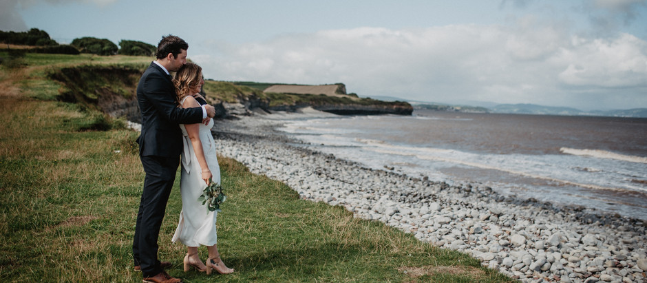 Sam and Karah | Intimate Wedding in Somerset England