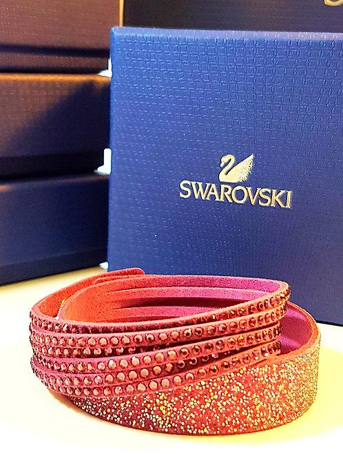 Slake duo bracelet purple SWAROVSKI