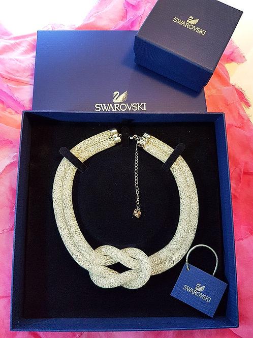 Stardust knot necklace SWAROVSKI