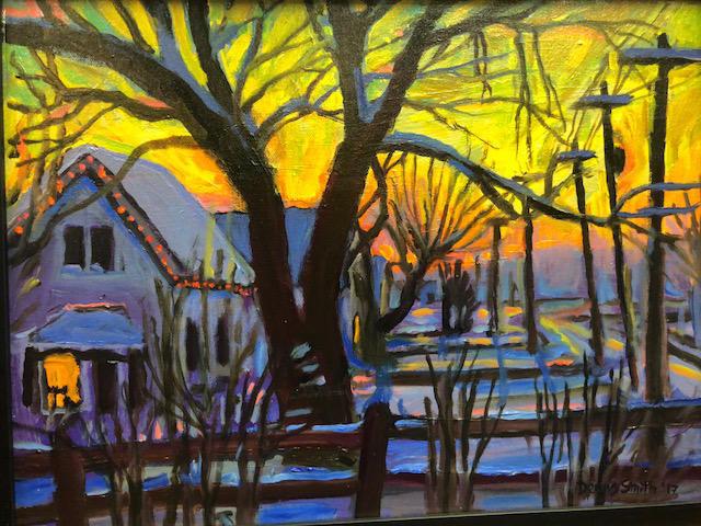 Dennis Smith | Winter Sunset