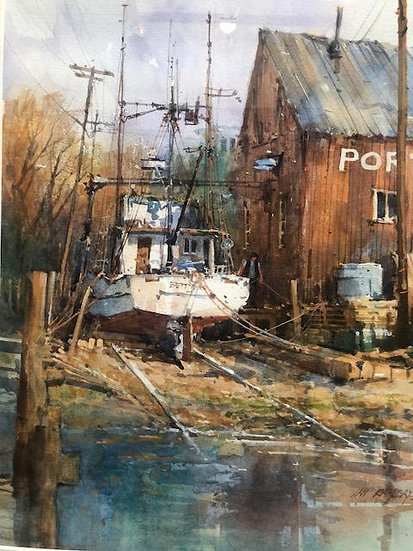 Ian Ramsay | Betty Lou, Drydocked