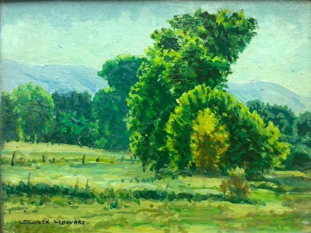 LeConte Stewart | Summer Trees