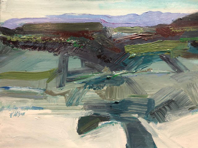 Kathy Wilson   Abstract Landscape