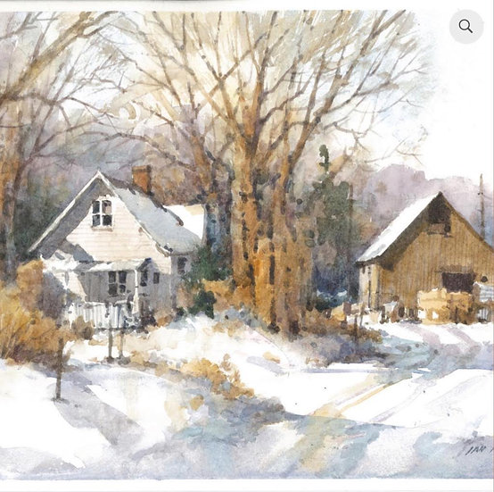 Ian Ramsay | Winter Farm
