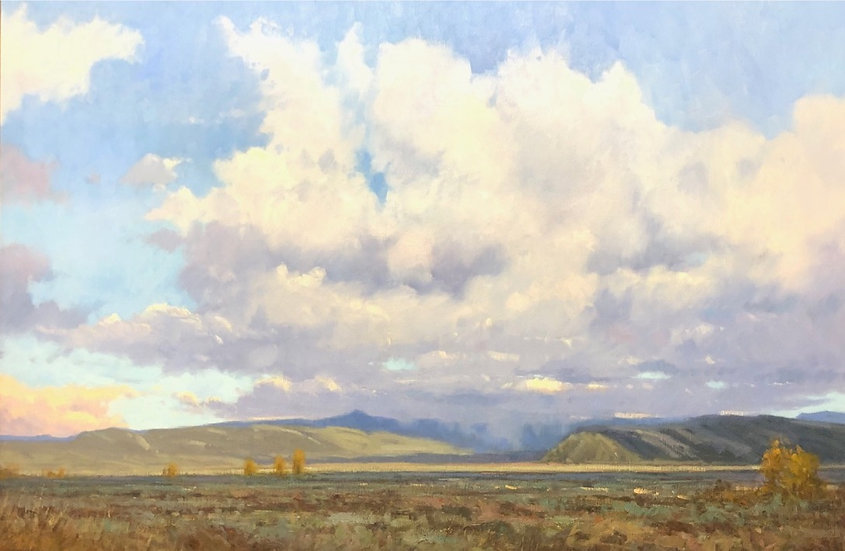 John Hughes | Storm Clouds Over Elk Refuge