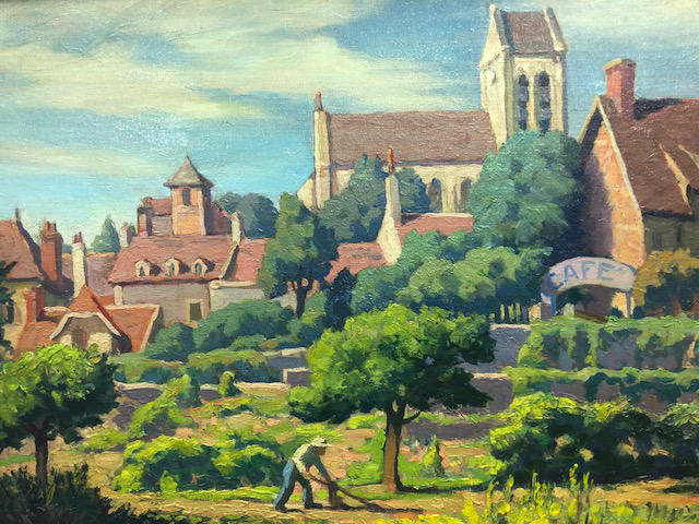 A.B. Wright | French Village