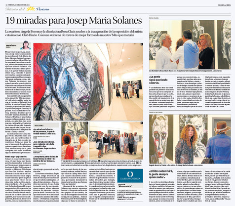 19 looks to Josep Maria Solanes