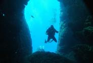 skinaria shrimp cave, skinaria deep diving, skinaria dive center, south crete diving, rethymno, kreta diving, royal senses dive center