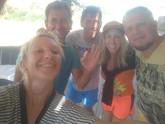 Jokin Yuri and brazilian divemaster, rethymno diving, unforgettable diving team in crete